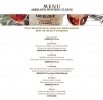 Le menu de l'Aberlour Hunting Club 2012