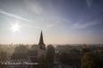 L'église de Kobbeghem et vers Bruxelles