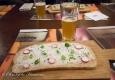 Apéro time, avec tartine de fromage et légumes croquants