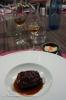 Joue de veau mijotée au jus de crustacés, réglisse et whisky. Riz thaï au tourteau. Amrut Kadhambam 2e Edition
