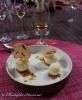 Blanc-Manger à l'amande et confit de kalamansi et sa crème glacée à la cannelle. Straight Bourbon Elijah Craig 12 ans