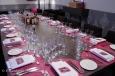 La table est dressée