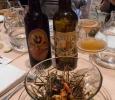 Crevettes Qwehli avec Vieux Tuyé et Sainte Colombe Dorée