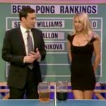 Anna Kournikova se met au ping pong... bière !