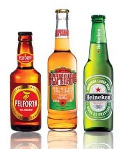 Trois marques fortes pour Heineken