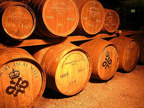La fabrication du whisky