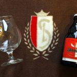 Benjamin Nicaise couvert de bière