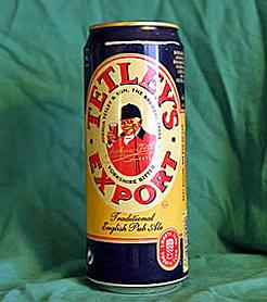 Tetley's Export Beer