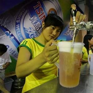 La Chine aime la bière