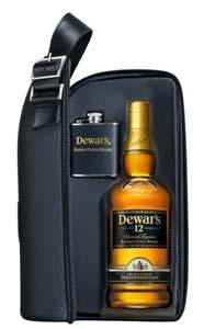 Dewar's sacoche cuir
