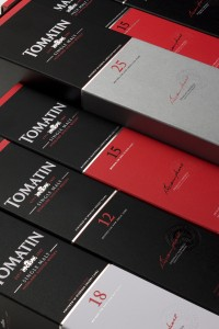 Packaging Tomatin relooké
