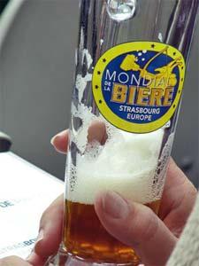 Le verre du Mondial de la Bière