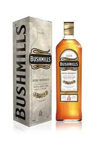 Nouveau packaging pour Bushmills