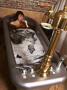 Un bon bain chez Chodovar