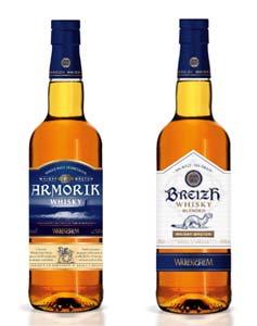 L'Armorik 42° et le Breizh 42° de la distillerie Warenghem