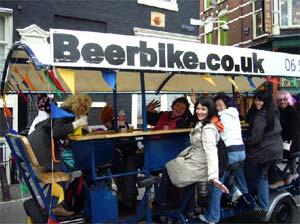 Le Beerbike à Amsterdam