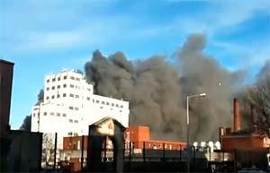 La Brasserie Guinness frappée par un violent incendie