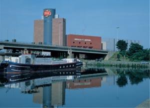 Le site InBev de Louvain (photo Anheuser-Busch InBev)