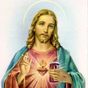 Jésus et sa canette de bière