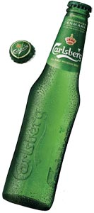 La Club Bottle de Carlsberg