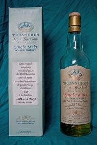 Treasures of Scotland Caol Ila 1989