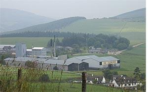 La distillerie Glenliver © Kkonstan