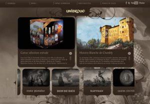 Le nouveau site d'Unibroue