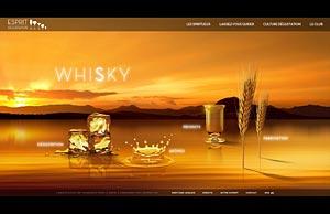 L'univers Whisky du site Esprit Dégustation