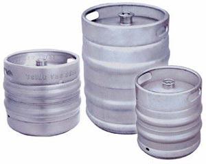 Fûts de bière en inox