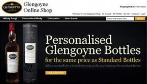 Glengoyne propose la personnalisation de bouteilles