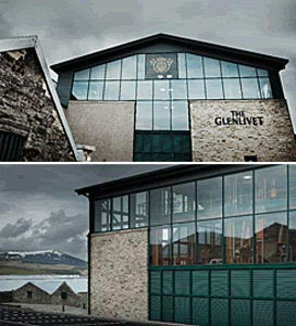Nouvelle structure de The Glenlivet