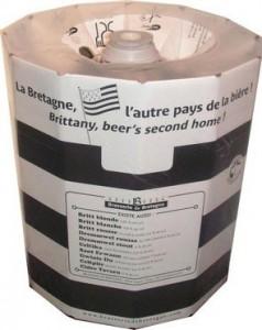 KeyKeg de la Brasserie de Bretagne