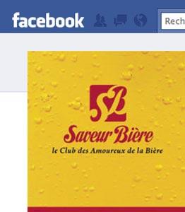 Saveur Bière sur Facebook
