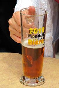 Verre officiel du Mondial de la Bière de Montréal 2010