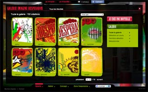Le site Imagine Desperados