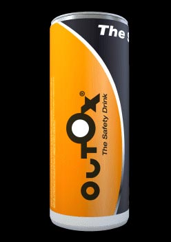 Une canette d'Outox