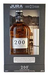 Jura 21 ans bouteille commémorative