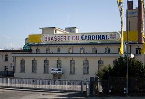 Brasserie du Cardinal à Fribourg ©Ludovic Péron