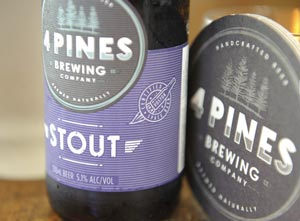 Le Stout de 4 Pines Brewering Company ©Alex R Green