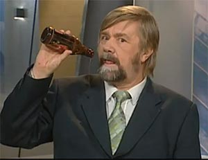 La TV finlandaise n'aime pas l'humour à base de bière