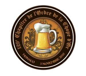 La bière en habits de gala avec l'Ordre de la Chope d'Or à Monaco