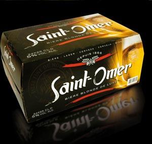 Bière Saint-Omer en pack