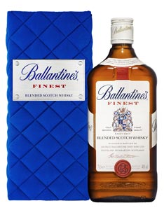 Ballantine's Finest en bleu roi pour Noël