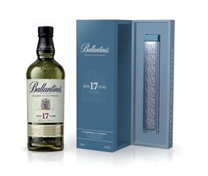 Ballantine's 17 ans et ses pierres de Noël