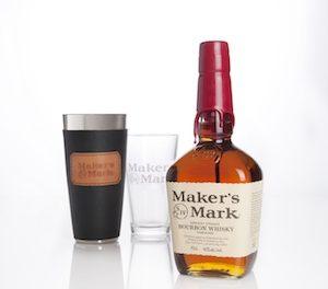 Un coffret Maker's Mark shaker par Florence Faugier