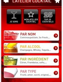L'Atelier Cocktail, de la mixologie sur votre iPhone