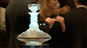 The Macallan Lalique chez Sotheby's