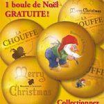 6 décors de Noël exclusifs pour la N'Ice Chouffe 2010 en Belgique