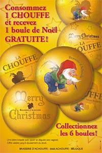Opération de Noël de la Brasserie d'Achouffe