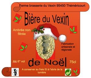 La bière de Noël 2010 de la Ferme Brasserie du Vexin